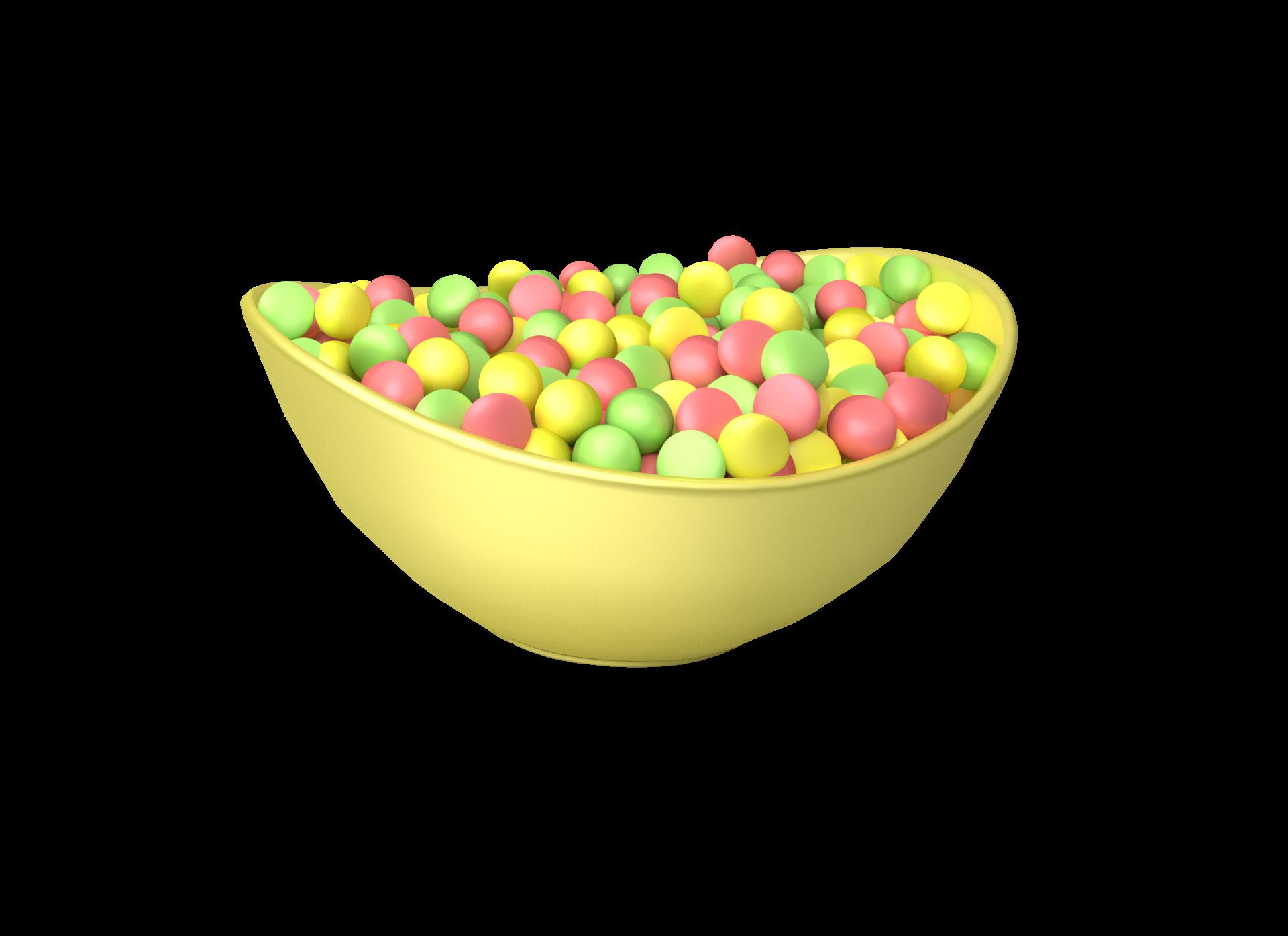 Sourrageous Drops bowl background